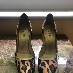 Dress leopard shoes